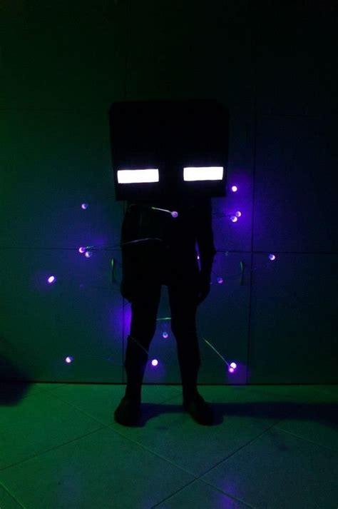 super crafty minecraft glowing enderman costume
