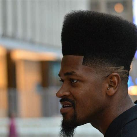 classy high top fade haircut  black men mens