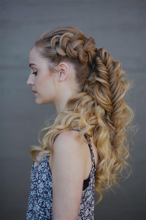 viking hairstyles  women  long hair