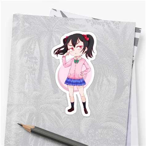 nico yazawa stickers stickers by sachikoh redbubble