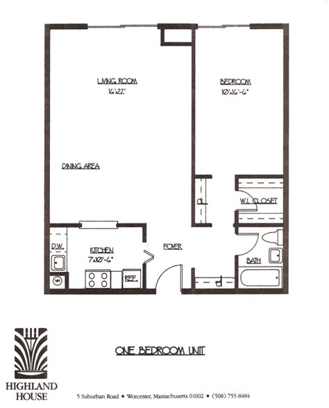 One Bedroom Apartment Layout Plan by One Bedroom Layout Worcester Ma One Bedroom