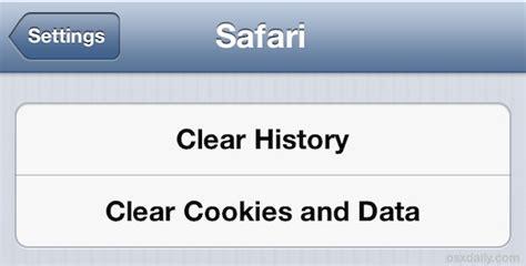 clear cookies and browsing history search engine