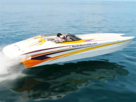 Nordic Boats News by Research 2013 Nordic Power Boats 34 Hurricane On