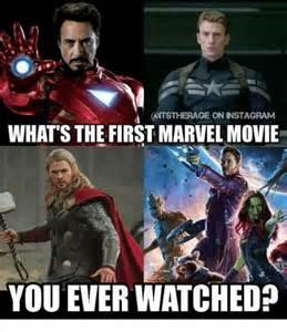Marvel Movie Memes