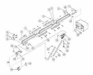 Ac Screw Drive Retail Rail Garage Door Operators