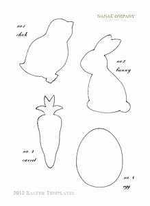early play templates free easter animal templates With easter picture templates