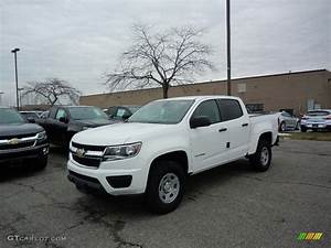 2017 Summit White Chevrolet Colorado WT Crew Cab ...