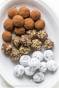 Cream Cheese Chocolate Truffles Recipe - NatashasKitchen.com