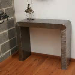 Meuble Tv Arrondi : console design console meuble meuble metal console m tal ~ Teatrodelosmanantiales.com Idées de Décoration