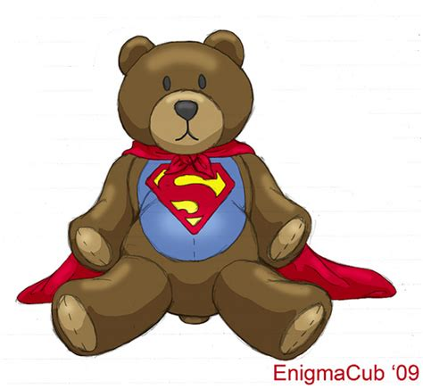 Super Teddy   A friend of mine wanted a Superman Teddy