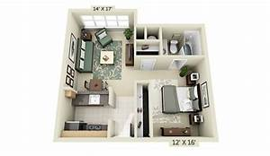 50 studio type single room house lay out and interior design With studio apartment floor plans 3d
