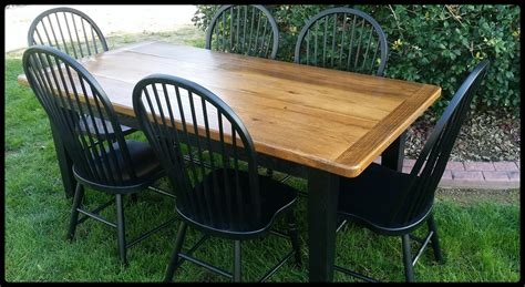 amish made oak table and chairs dining room table centerpieces ideas agathosfoundation org
