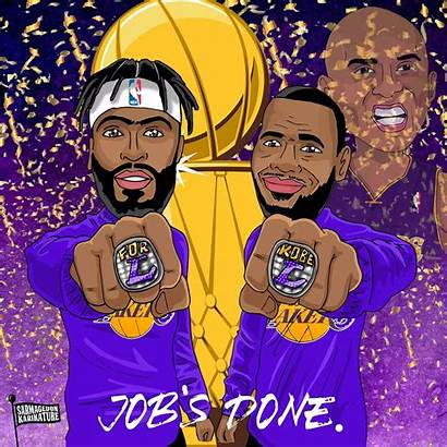 Lakers Champions Nba Angeles Wallpapers Greepx Picutres
