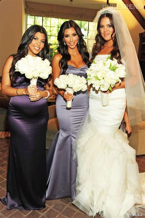 robe mariage khloe kardashian