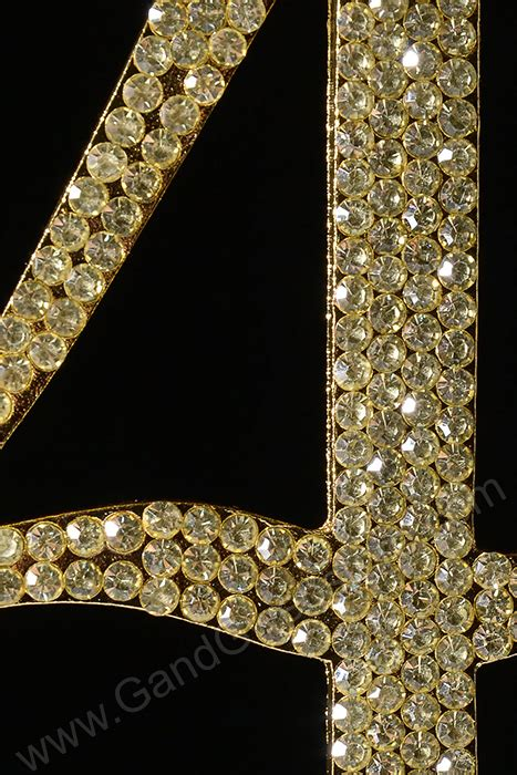 rhinestone gold number 39 cake 4 5 quot rhinestone number quot 4 quot cake topper gold