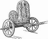Chariot Greek Clipart Coloring Graeco Template Rome Etc Wheels Sketch Outline Usf Edu Emoji sketch template