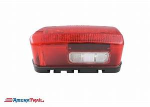 Led Wrap Around Tail Light  Driver Side W   Tag Light
