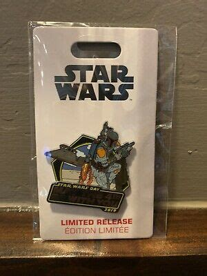 Disney Star Wars Day May the 4th Be With You Pin 2019 Boba ...