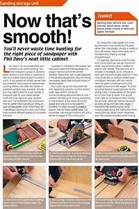 Sandpaper Storage Cabinet Plans • WoodArchivist