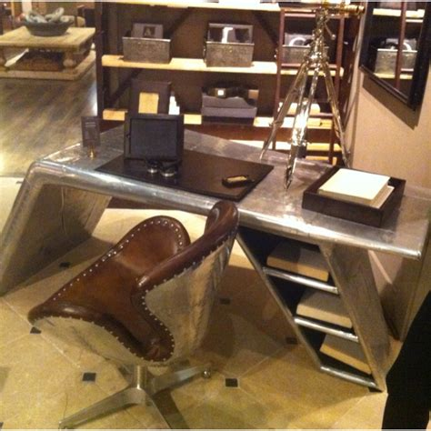 Restoration Hardware Aviator Desk by Airplane Desk At Restoration Hardware Dreams