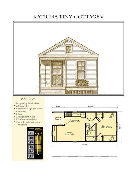katrina tiny cottage v small space floor plans pinterest