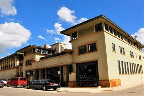 iowas river city  trove  prairie school architecture