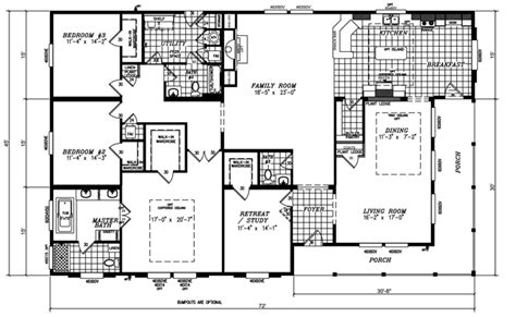 mobile homes wide floor plan wide high pitch roof construction bestofhouse net 27816