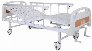 China Double Crank Manual Hospital Bed  Sk-mb106