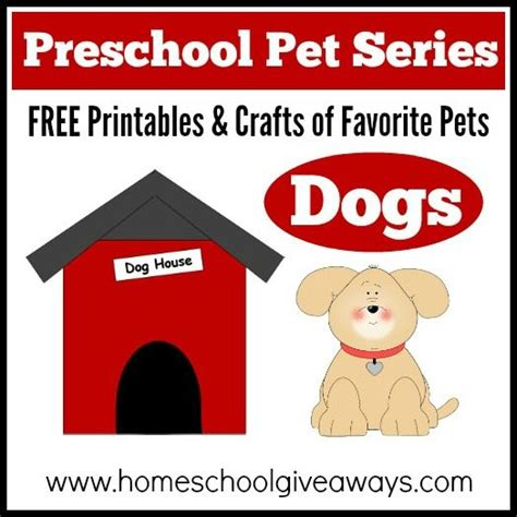 preschool dog activities preschool pet series free printables and crafts of 237