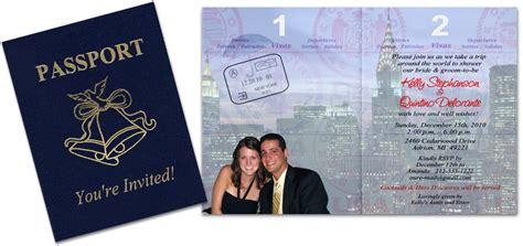 passport  baby shower  birth announcement custom