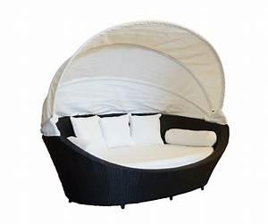 Lounge Liege Garten : liegeinsel paradis anthrazit schwarz lounge sofa liege garten polyrattan neu ebay ~ Watch28wear.com Haus und Dekorationen