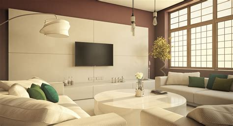 living rooms  demonstrate stylish modern design trends