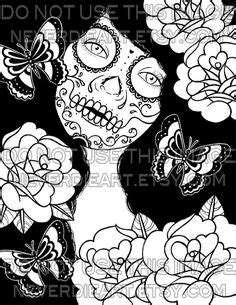 Tattoo sugar skull marilyn | Marilyn monroe | Pinterest