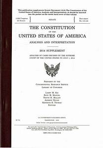 The Constitution of the United States of America, Analysis ...