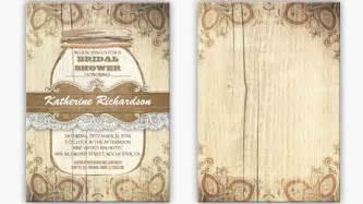 rustic wedding shower invitations bridal shower wedding invitations by jinaiji