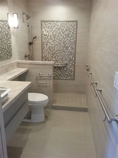 Ideas For Narrow Kitchens - marvelous moen kingsley in bathroom transitional with disability shower next to ada compliant