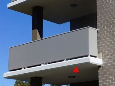 Alucobond cladding for Ralan Homes balcony   Architecture