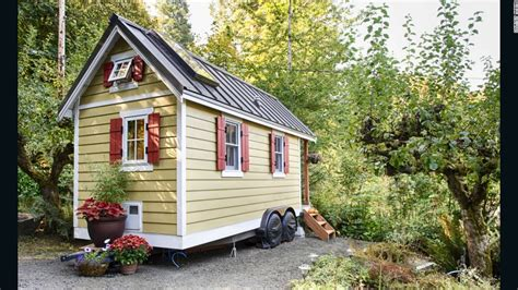 Tiny House Rentals For Your Mini Vacation Used Kitchen Cabinets Seattle Roll Up Cabinet Doors Constructing Country White Refurbished Wall Unfinished Backsplash Ideas Dark Popular Colors For 2014