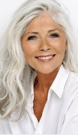 Beautiful Makeup (With images) Long gray hair Long hair