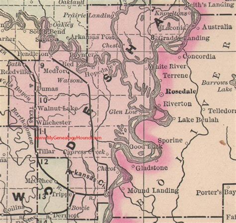 1000+ Images About Vintage Arkansas County Maps On Pinterest