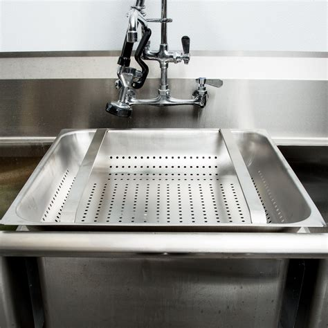 Commercial Dish Sink Strainer by Stainless Steel Pre Rinse Basket 4 Quot