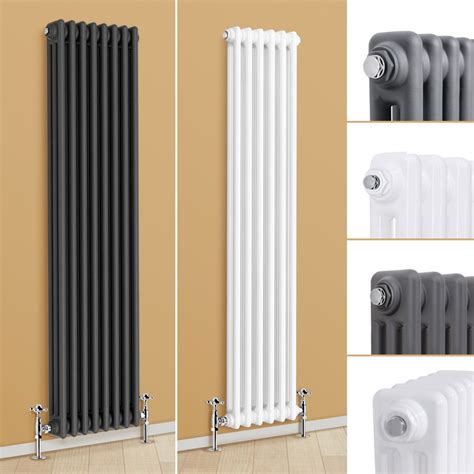 traditional tall column radiator vertical central heating