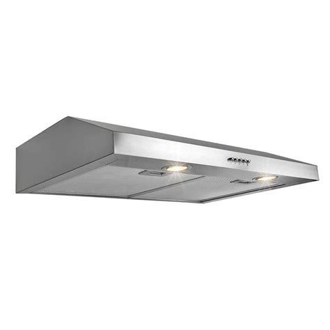 30 stainless steel range hood under cabinet akdy 30 in kitchen under cabinet range hood in stainless