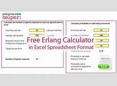 Erlang C Calculator Excel – Including Shrinkage