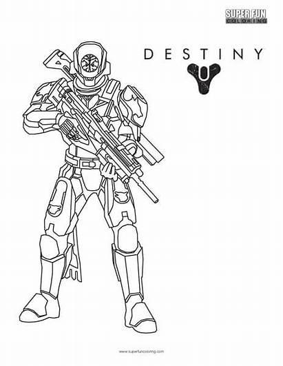 Destiny Coloring Games Titan Super Fun