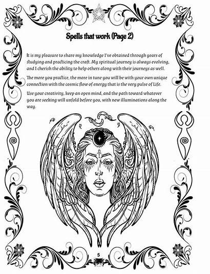 Magic Fertility Spells Coloring Pregnant Wicca Spell