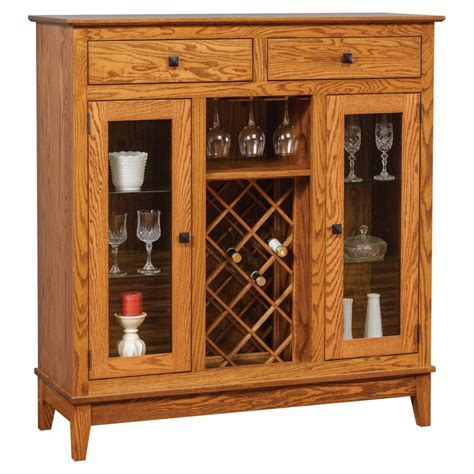 Canterbury Wine Cabinet 507   Amish Crafted Furniture