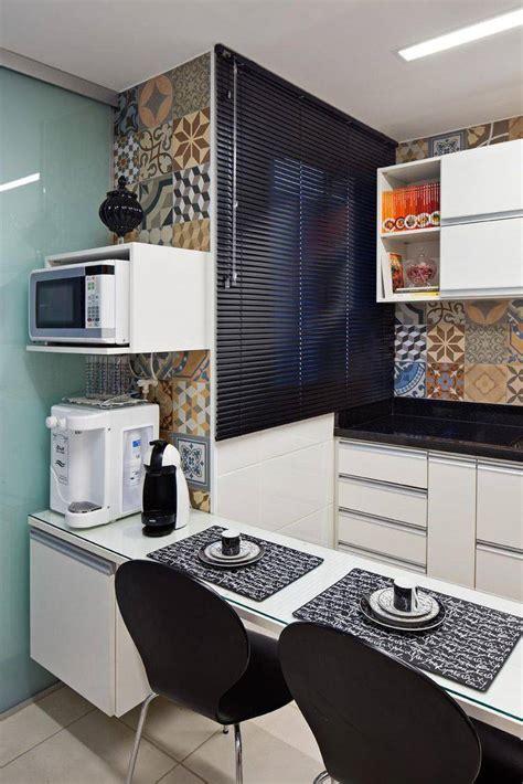 cozinhas pequenas decoradas  planejadas viva decora