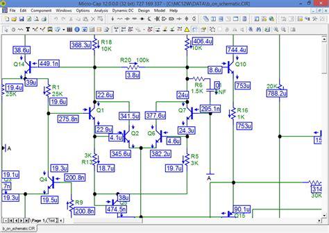 On Schematic Voltage, Current, Power, Condition
