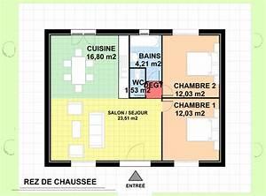 maison flute maison archi constructeur With plan de petite maison